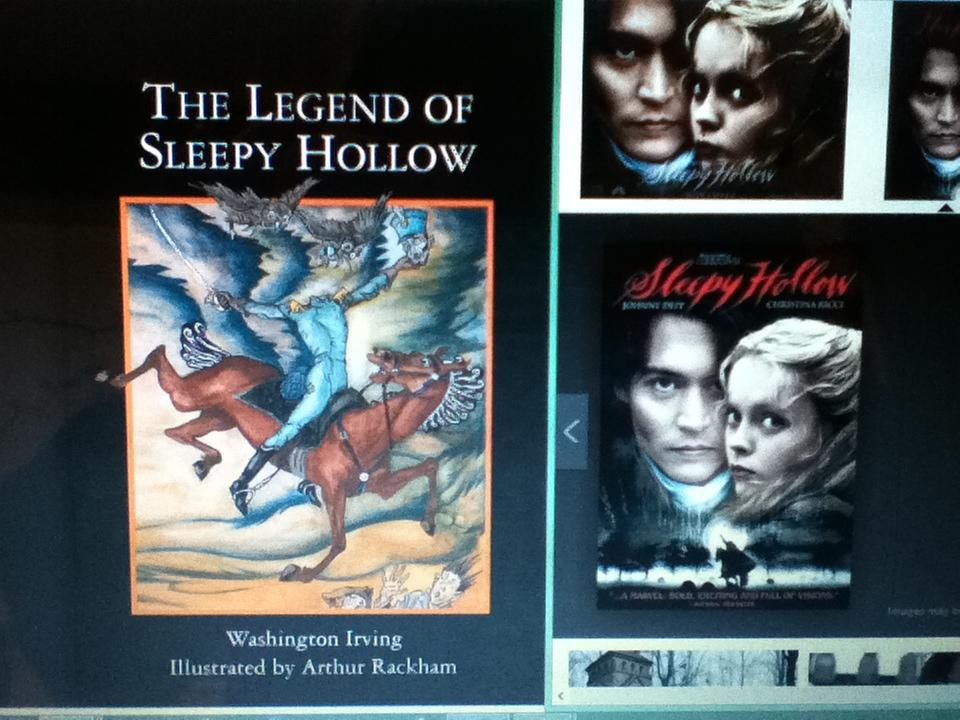 legend of sleepy hollow formalist essay
