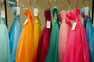 2ace96483c8 Stores are stocking up on dresses for the upcoming prom.