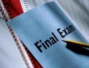 Some pressure should be taken off of LP students regarding final exams