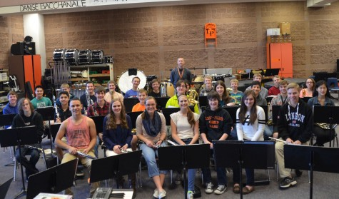 Lewis-Palmer High School Wind Symphony band to play for state for music festival