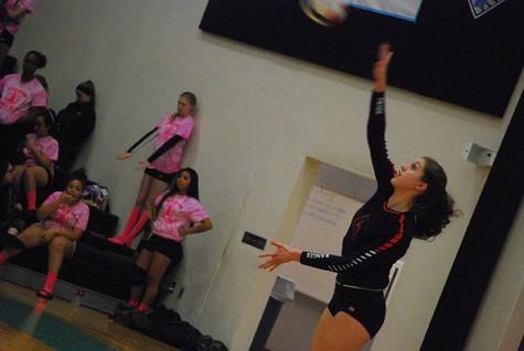 Lydia Bartalo Kills it in Volleyball