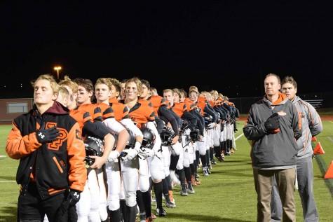 Varsity football's last seasonal home game