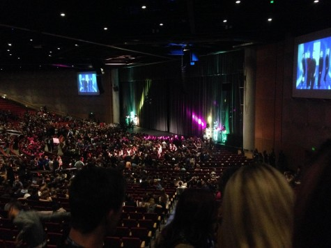 Thousands of students attended the performances at this year's convention