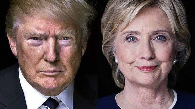 Presidential+candidates+Hillary+Clinton+and+Donald+Trump%2C+running+for+the+2016+presidency+