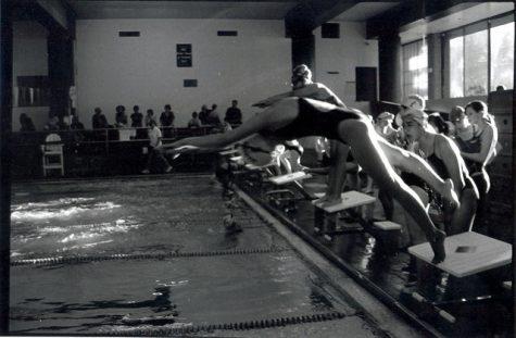 Lewis-Palmer Girls' swim team dives off on a good note