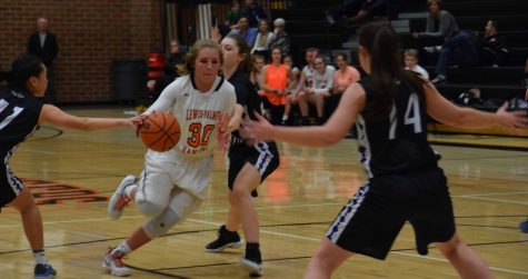 Lewis-Palmer Girls Basketball Loses to DCC Thunder in Rivalry Game