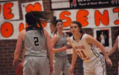 Insides of the Girls Varsity Basketball team