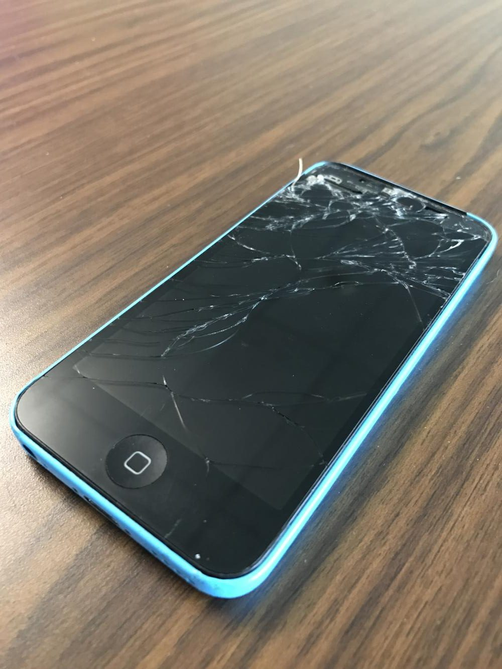 Brooke Wise's phone smashed due to the events at Prom's Coat Check