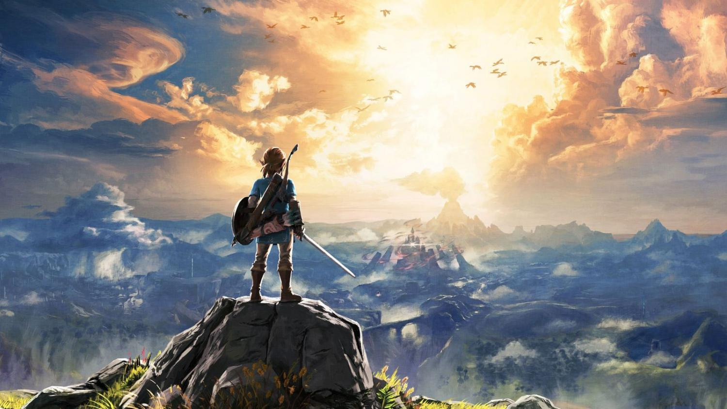 Cover art for The Legend of Zelda: Breath of the Wild