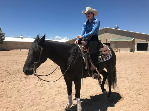 Junior finds passion in riding horses