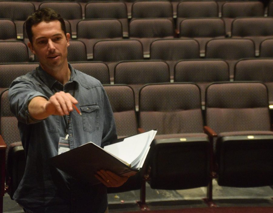 Mr.+Clark+directing+Beauty+and+the+Beast+rehearsal.+%22I+think+the+show+is+going+to+come+together+great+and+as+long+as+we+put+our+best+foot+forward+over+the+next+few+weeks+at+rehearsal+I+think+the+audience+will+really+enjoy+it%2C%22+Mr.+Clark+stated.%0A