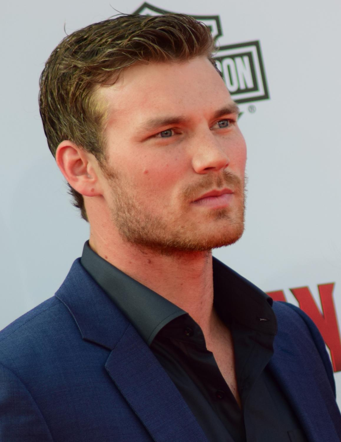 "Derek Theler, a Lewis-Palmer High School alumni, walks at a Hollywood Red Carpet Event. Mollie Albanesi 10 said, "" Even if you are from a small town you can make it big."""