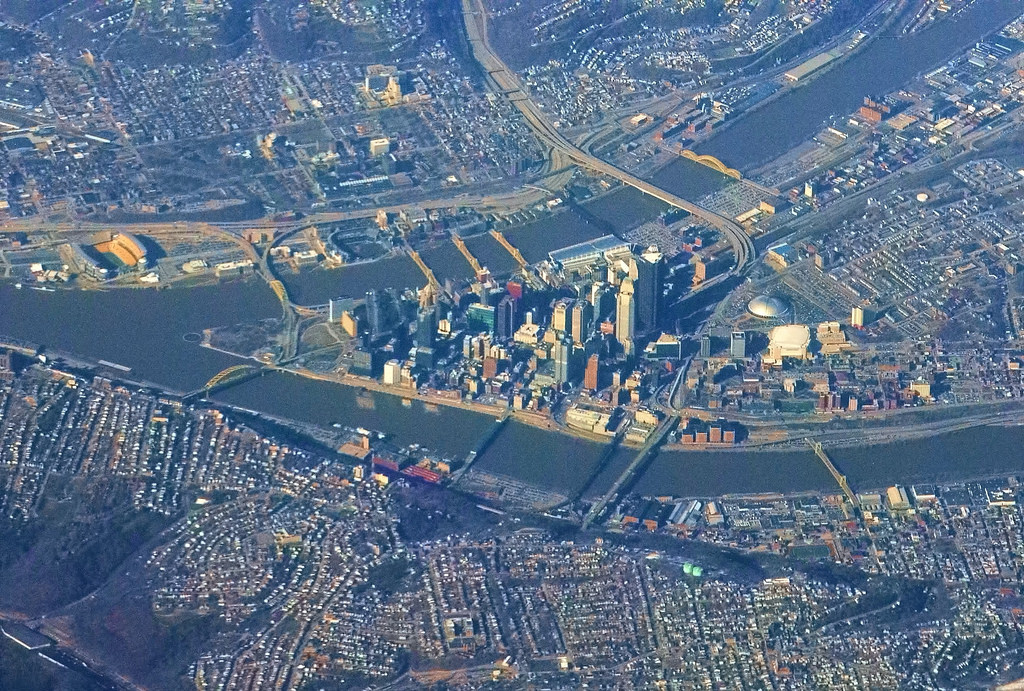 An image is taken of the city of Pittsburgh, Pennsylvania. The city was recently hit by the biggest terrorist attack on a Jewish community in United States history.
