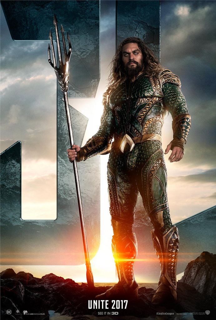 Jason Mamoa stars as Aquaman. The DC film was released on December 21, 2018.