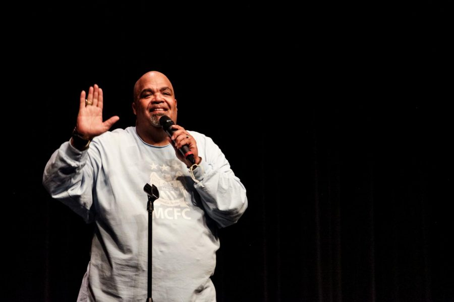 """Reggie Dabbs speaks to schools all over the United States.  """"You can never change your past, but you can change your future!"""""""