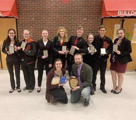 Speech and Debate competes at the Colorado Grande National Qualifying tournament