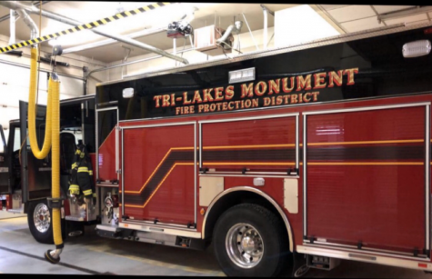 Senior rides along with Monument Fire Department