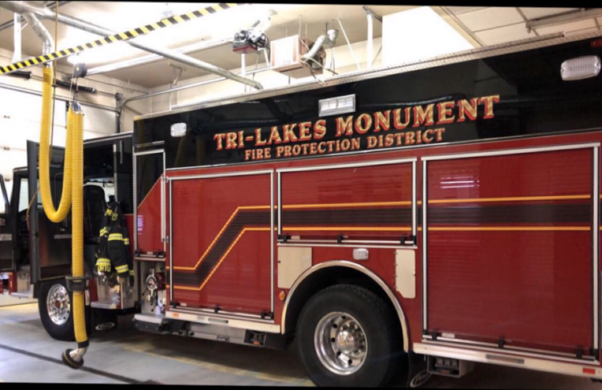 """Micheal Wolfe rides along with Monument Fire Department. """"Experiencing the camaraderie that comes along with being in the fire department is a great feeling,"""""""