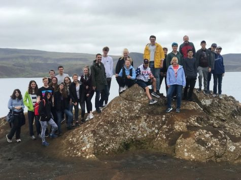 Students travel to Iceland for school-sponsored summer trip