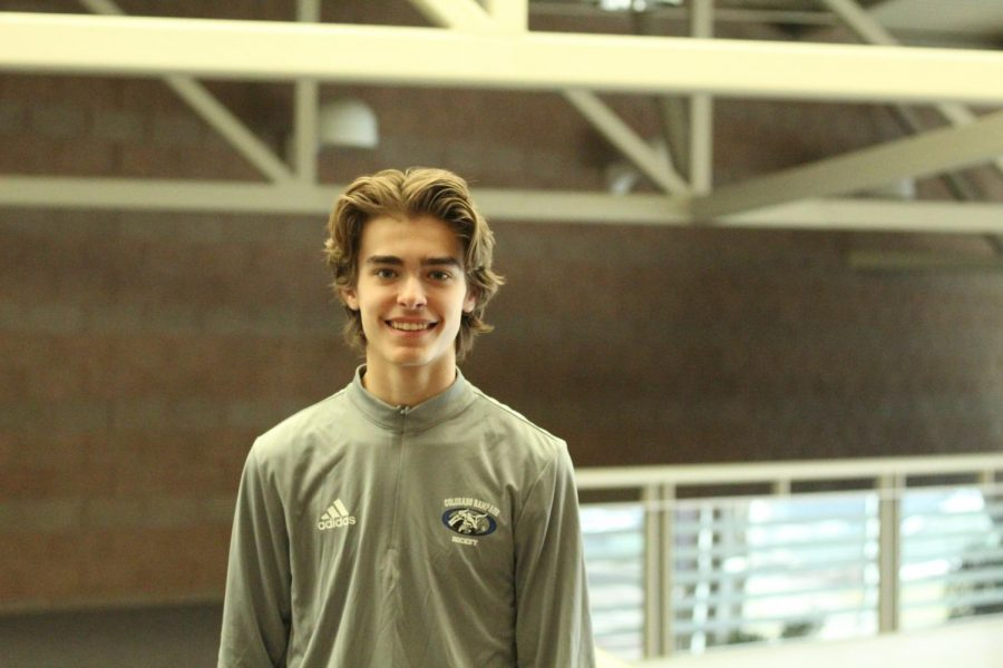 Preston Collier maintains academic goals