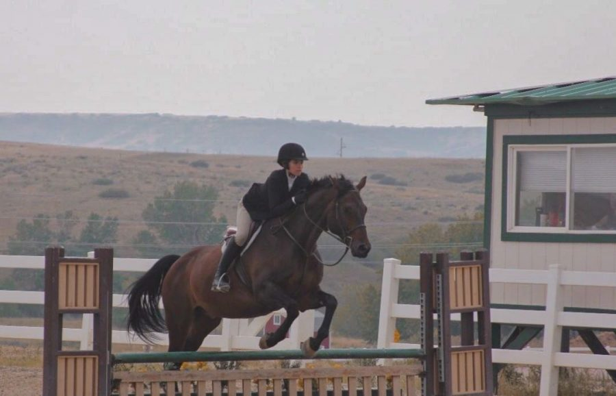 Rosen+Shares+her+Exciting+Equestrian+Experience