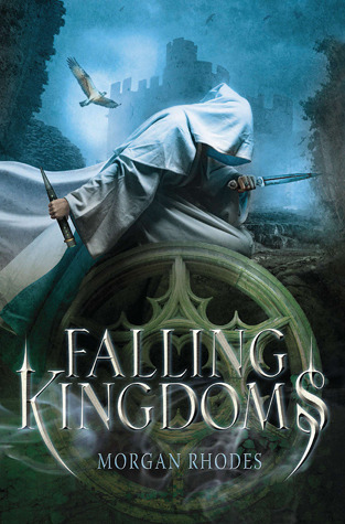 Published cover of Falling Kingdoms by Morgan Rhodes